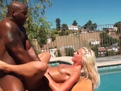 Irresistible golden-haired sweetheart receives fucked