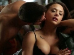Luscious pornstar Chanel Preston ripped