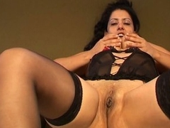 Titanic tits latina milf naughty solo pussy raillery nasty show